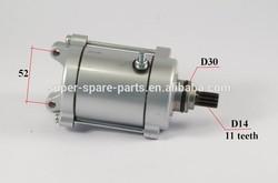 motorcycle parts 250cc 11 teech atv starter motor