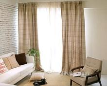 Elegant polyester blackout window curtain patterns