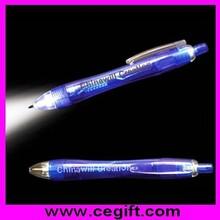 Led Light Bulb Pen with Logo