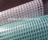 Waterproof transparent clear mesh tarp,pvc net fabric
