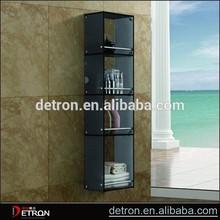 Glass shevles wall bathroom furniture