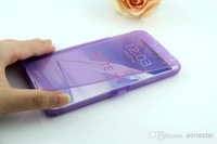 Full window Candy Clear Transparent Touch Screen plastic Flip TPU Soft Cover Case for Galaxy note3 n9000