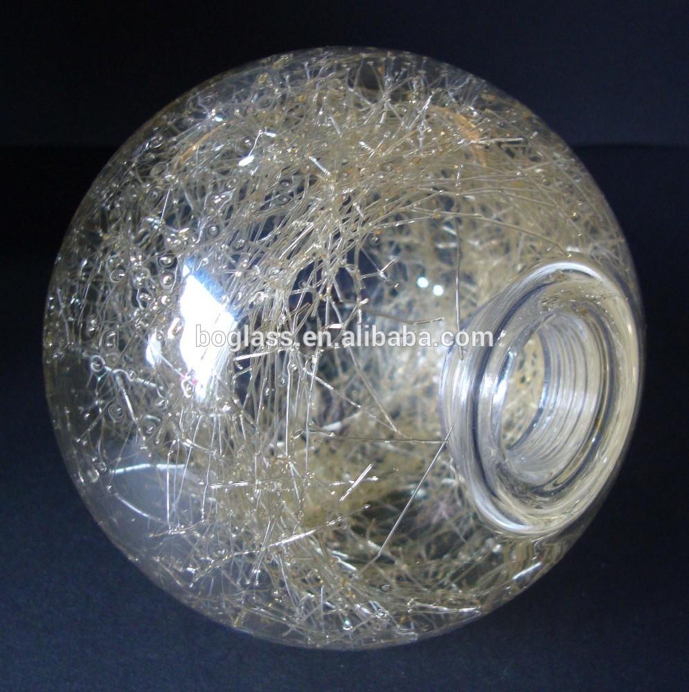 Cracked Glass Lamp Crack Glass Ball Lamp/glass