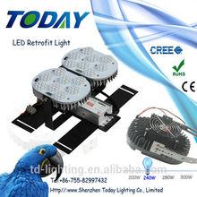 240W Newest UL/CE/ROHS listed led retrofit kit 40/60/80/100/120W 240W fluorescent retrofit kits