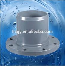 functional pvc pipe fitting /pvc spigot flange