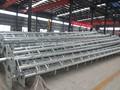 10 metrosaltura poste de acero con escalera y marco de luz