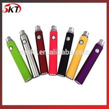 2014 new e cigs,e cigarettes,electronic cigarettes Evod battery 650/900/1100mah