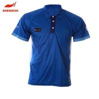 Custom polyester/cotton men's short sleeve polo t shirt