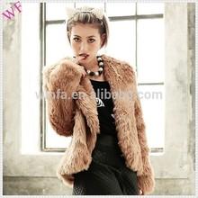 Custom womens fur coats turkey ladies rabbit fur coat