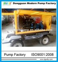 IS series portable diesel engine water pump set