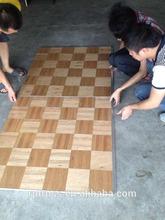 Natural Teak wood 3ft*3ft Dance floor from RP the China best dance floor factory
