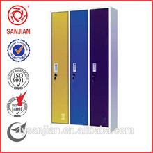 3 puerta del armario de acero modren salón almirah diseño