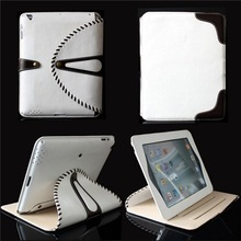360 Degree Rotating Detachable Folio Flip Original Leather Case For iPad 2 3 4