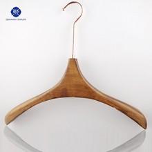 Wholesale long hook wooden hanger QianWan Dispalys