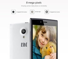 Brand Cell phone 2014 New Products THL T6 Pro MTK6592M Octa Core 5.0Inch 5MP+8MP Dual Camera Android 4.4 Phone IPS 3G WIFI