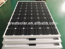 Flexible and economical 200w mono solar panel with good efficiency from Chinese manufacture