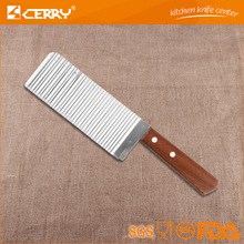 Export product potato French fries cutter with wood handle