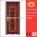 Apartamento rústico de madeira da porta de entrada sc-s025