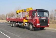 190hp 6x4 new condition Sinotruk 10 ton Unic overhead truck-mounted crane sale