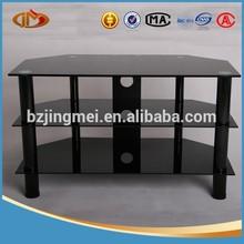 elegant cheapest tempered glass corner Tv stands