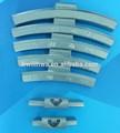 chumbo zinco roda pesos para balanceamento de liga leve aro