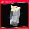 Boîtes d'emballage en plastique transparent de haute qualité, impression boîte d'emballage des aliments congelés