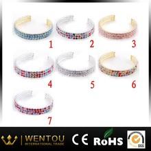 Good Quality Brilliant Colorful Bridal Bracelet