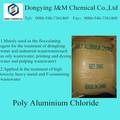 Básico de cloruro de polialuminio 30% msds