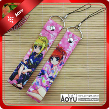 Promotional fashion AZO free 12.5*2.5cm animal short lanyard print your own picture(size can be changed)