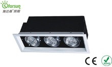 SAA high bright 3*3w led grid light cheap price hot sale models from factory