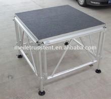 movable platform dancing portable plexiglass stage