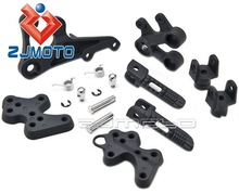 NEW Frame Fittings Stay Front Footrests Step Brackets Fit for Suzuki GSXR 1000 2005-2013