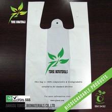 compostable biodegradable supermarket shopping bag