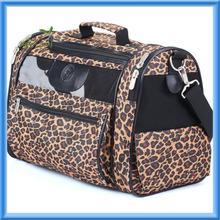Sherpa Cat Tote Pet Carrier, Leopard Print