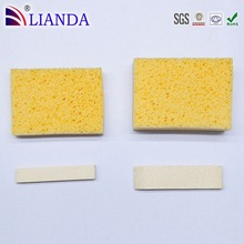 Pop Up Sponge!! Rectangular Compressed Cellulose Sponge Sheet