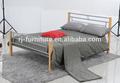 Cama de metal venda quente cama de casal