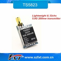 TS5823 Factory Price Ultra Mini 32chs Transmitter,5.8G FPV Video Transmitter For Walkera QX350 etc