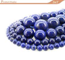 ingrosso gemma sciolto di tipo profondo blu perline 8mm lapislazzuli pietra
