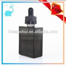 manufacture black glass bottle dropper eliquid glass bottle eliquid 15ml 30ml glass dropper bottle tube package