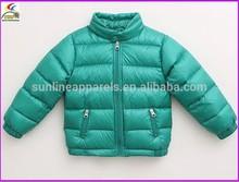 fashion girls winter down coat with waterproof