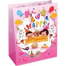beautiful and cute children birthday gift bag