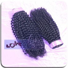 Very pretty indian 6A virgin afro kinky curly hair weft can be dyed!!