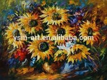 Van Gogh Sunflower/Pico Art Landscape Painting/Sun flower Landscape Oil Painting