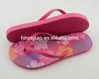 rubber flip flop 15mm sole lady slippers