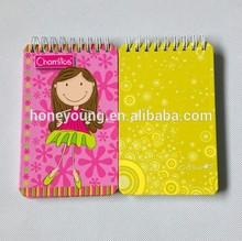 new design wholesale grid paper notebook designer of spiral notebook