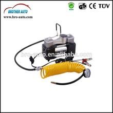 High quality 2015 hot sell DC12V/24V SINGLE CYLINDER portable dc 12v mini car air compressor