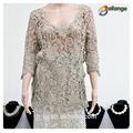 Lady blusas e tops tipo de produto rendas blusa nova moda oco out lace blusa de algodão verão vestidos bordados para a mulher