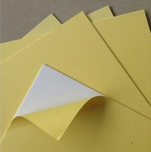 custom size self adhesive sheets photo album,glue sheet book binding