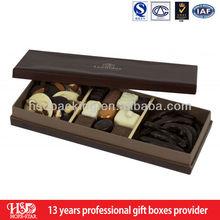 2015 New Design top quality wedding Invitation fancy wooden chocolate box