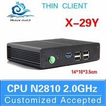 Wholesale x29y celeron dual core N2810 support touch screen mini computer low cost mini computer mini computer monitor